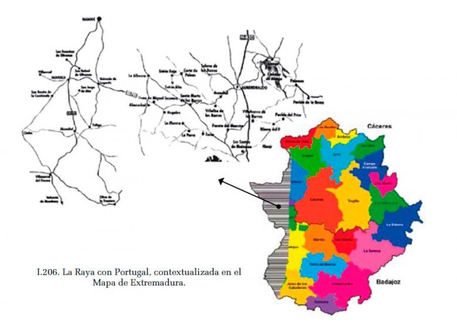 La Raya con Portugal