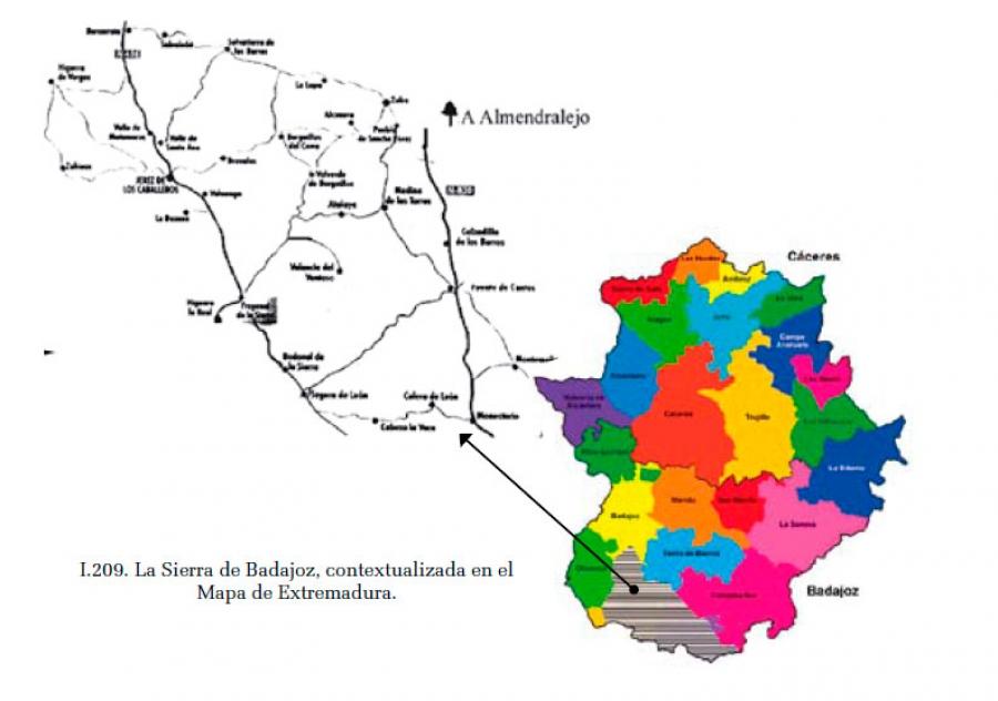 La Sierra de Badajoz